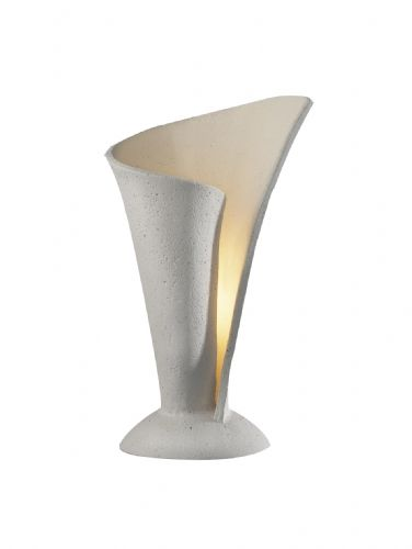 Orchid 1-light Stone finish Table Lamp ORC4234 (785601) (Class 2 Double Insulated)